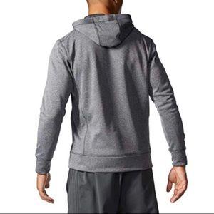 adidas Shirts - 💕Mens Ultimate Pullover Hoodie, Dark Grey/Black L